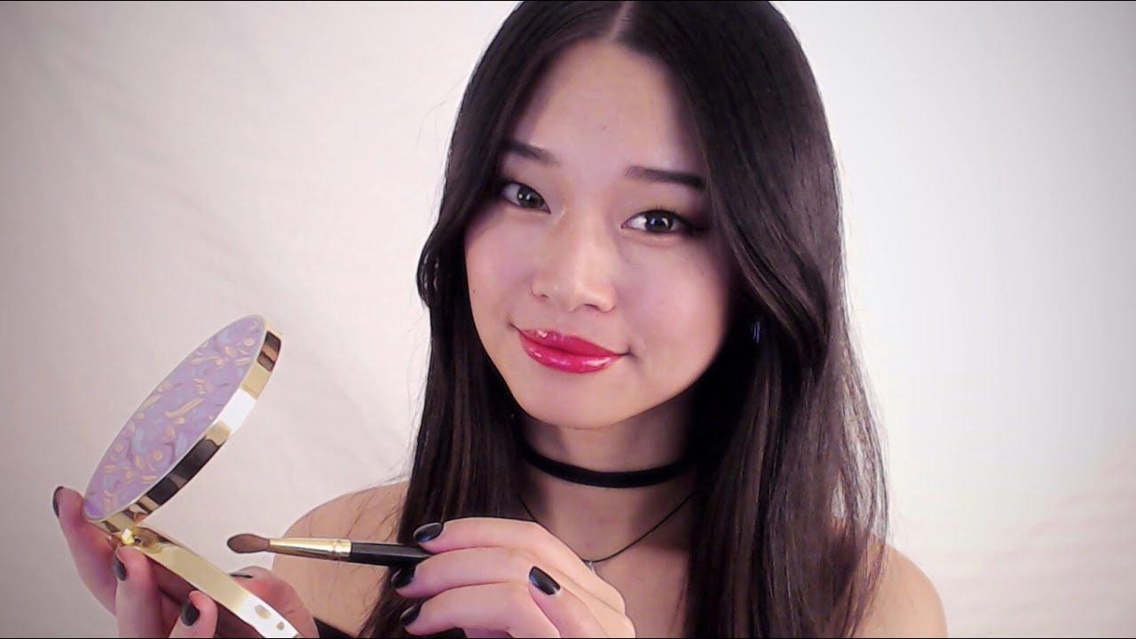 Makeup asmr tapping