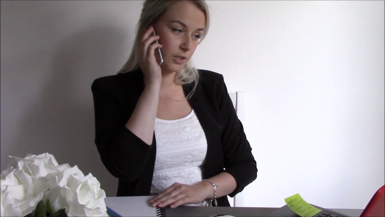 Flirty dating service receptionist asmr