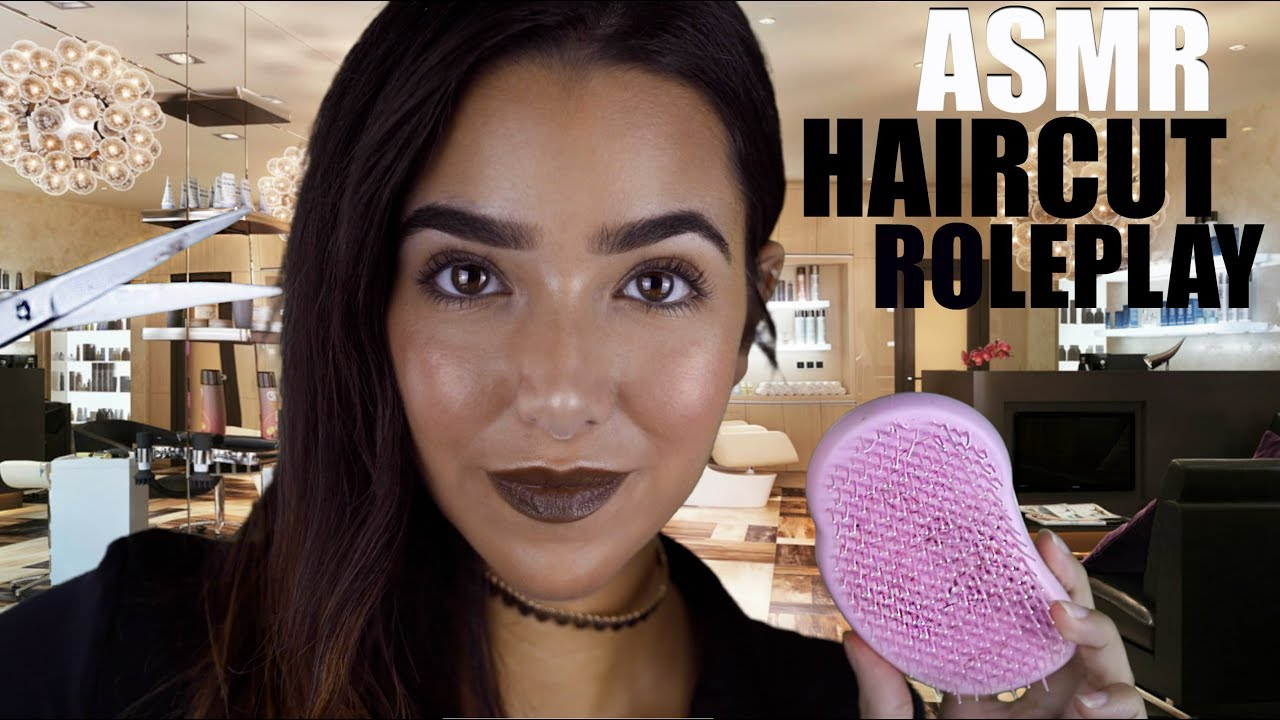 Video Haircut Role Play Asmr Glow Asmr