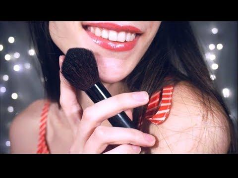 Massage, Brushing, Whispers Ear to Ear (Maple ASMR)