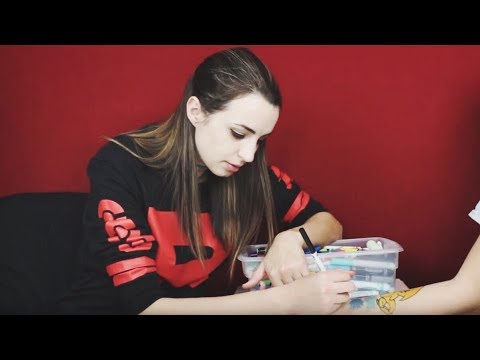 Drawing on a Friend (Gibi ASMR)