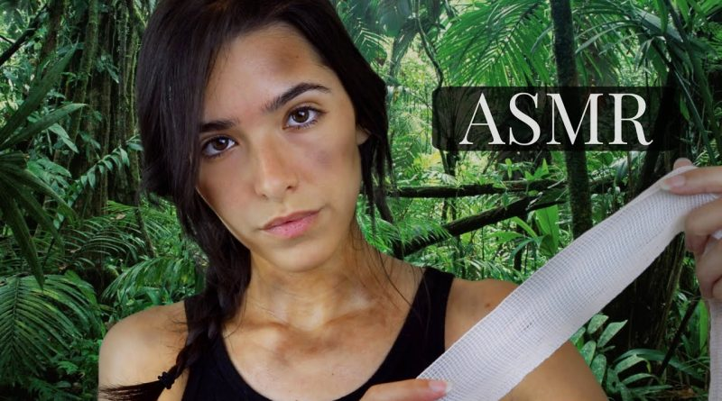 Lara Croft Takes Care Of You (ASMR Glow)