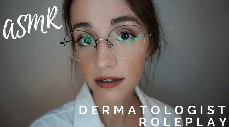 ASMR Roleplay | Dermatologist Skin Exam (Sarah Lavender ASMR)